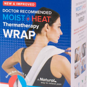 CAREX Bed Buddy Moist Heat Thermatherapy Wrap**NIB